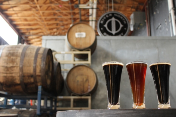How 'bout some barrel-aged flights?